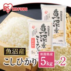 米 お米 精米 10kg(5kg×2) こしひかり 魚沼産 令和2年産 低温製法米