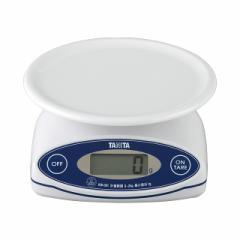 タニタ はかり スケール 料理 防水 洗える 2kg 1g KW-001-WH