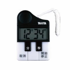 タニタ タイマー TD-382-BK 大音量 アンパンマンマーチ ミッキーマウスマーチ トーン 切り替え 鍵盤 光る