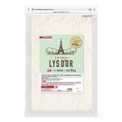 パン専用粉 リスドオル チャック付 3kg 日清フーズ 粉 製パン パン作り 大容量