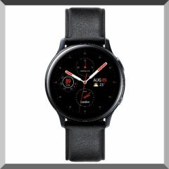 Galaxy Watch Active2 / Stainless steel / Black...
