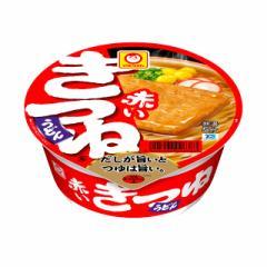 マルちゃん 赤いきつねうどん 東日本 96g×12個 東洋水産 カップ麺 カップうどん インスタント まとめ買い ケース 箱買い 備蓄