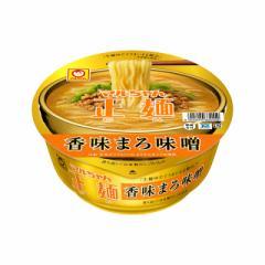 マルちゃん正麺 カップ 香味まろ味噌 129g×12食 東洋水産 カップ麺 カップラーメン インスタント ケース販売 まとめ買い 備蓄