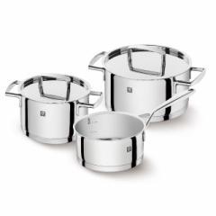 ツヴィリング Zwilling 鍋 鍋セット パッション クックウェア 3pcs セット 鍋 IH対応 食洗機 日本正規品 66060-001