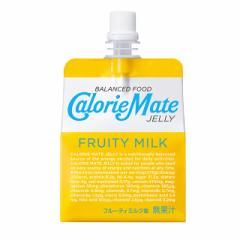 大塚製薬 カロリーメイトゼリー フルーティミルク味 215g×24袋 カロリーメイト