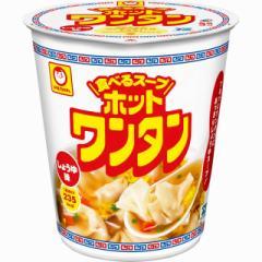 マルちゃん ホットワンタン しょうゆ味 46g×12個 東洋水産 インスタント スープ 雲呑 まとめ買い