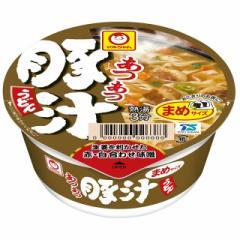 マルちゃん あつあつまめ豚汁うどん 49g×12個 東洋水産 カップ麺 少量 おやつ ランチ まとめ買い