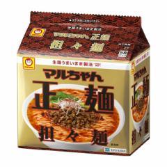 マルちゃん正麺 担々麺 5食×6袋 東洋水産 インスタントラーメン インスタント麺 袋麺 まとめ買い