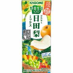 カゴメ 野菜生活100 日田梨ミックス 195mL×24本(24本×1ケース)