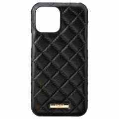 GRAMAS COLORS QUILT Shell Case for iPhone 2021(6.1inch 2レンズ)/Black