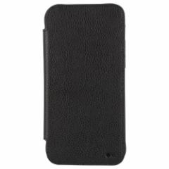 GENUINE LEATHER SLIM WALLET FOLIO TOUGH For iPhone 2021(6.7inch)/BLACK