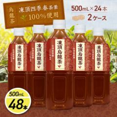 ウーロン茶 お茶 台湾産茶葉使用 凍頂烏龍茶 500ml×24本/2ケース ペットボトル まとめ買い ケース販売
