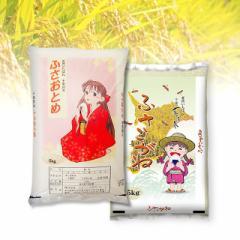 米 お米 精米  10kg(各5kg×2)  ふさおとめ&ふさこがね 千葉県産 令和3年産