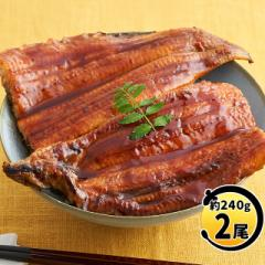 うなぎ 蒲焼き 特々大2尾 食べ応え有り(約240g×2尾 タレ山椒付き)ウナギ 鰻 土用の丑