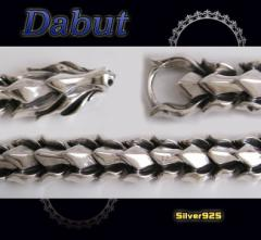 【DB】ドラゴンブレスレット(1)/6龍【メイン】シルバー925送料無料