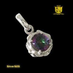 ミスティッククォーツのペンダント(1)/シルバー925銀・ネックレス・天然石ペンダント送料無料