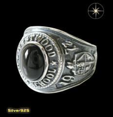 カレッジリング(16)BS17号・19号・21号・23号/(メイン)天然石・指輪・リング・シルバー925製・銀