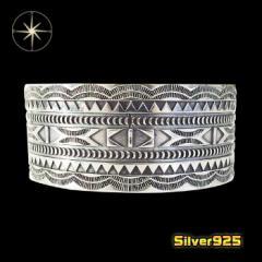 ネイティブバングル(29)/【メイン】 ネイティブイーグル フェザー 腕輪   シルバー925銀  メンズ