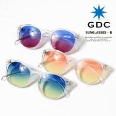 GDC ジーディーシー SUNGLASSES-B メンズ レディース 眼鏡 サングラス カラーレンズ ストリート atfacc