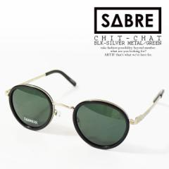 SABRE セイバー CHIT-CHAT BLK-SILVER MTEAL/GREEN メンズ サングラス ストリート sabre 正規品・正規取扱店 送料無料 atfacc