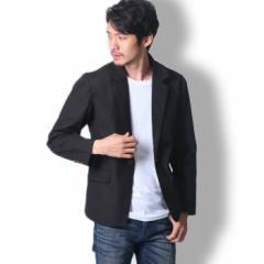 BUZZ WEAR テーラードジャケット メンズ 秋冬春用 黒 M-XL