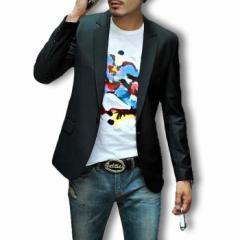 テーラードジャケット メンズ 大きいサイズ ブレザー ブルゾン アウター ビジネス カジュアル フォーマル コーデ 3000円以上送料無料