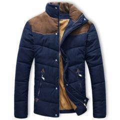 ブルゾン メンズ 中綿入りジャケット コート ジャンパー アウター アウトドア ハイネック 秋服 冬服 BUZZ WEAR [バズ ウェア]