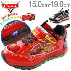 即納 あす着 送料無料 ディズ二ー カーズ ライトニングマックイーン スニーカー ローカット 子供 キッズ ジュニア 靴 Disney Cars 7223