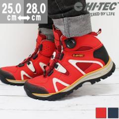 即納 あす着 送料無料 ハイテック スニーカー ハイカット メンズ 靴 HI-TEC HT TRM723 tok