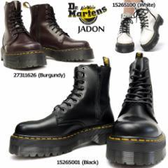 【即納】ドクターマーチン JADON ジェードン 15265001 メンズブーツ レディースブーツ 本革 8ホール 厚底 Dr.Martens QUAD RETRO JADON 8