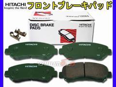 デュアリス KJ10 KNJ10 J10 NJ10 日立 ブレーキパッド フロント 4枚セット HN008