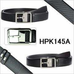 ダンヒル DUNHILL メンズ レザー リバーシブル ベルト つや無ブラック/つや有ブラック HPK145A
