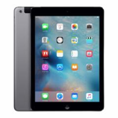 中古 タブレット Apple iPad Air Wi-Fi+Cellular 64GB au(エーユー) スペースグレイ 本体 iOS11.3