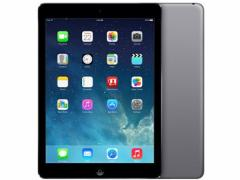 中古 タブレット Apple iPad Air2 Wi-Fi +Cellular 16GB au(エーユー) スペースグレイ 本体 iOS 11.0.3