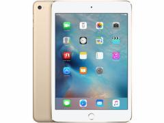 中古 タブレット Apple iPad mini4 Wi-Fi +Cellular 16GB SoftBank(ソフトバンク) ゴールド 本体 iOS11.1.1