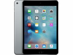 中古 タブレット Apple iPad mini4 Wi-Fi +Cellular 16GB SIMフリー スペースグレイ 本体 iOS11.2