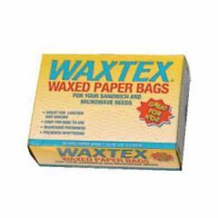 【ワックスペーパーバック】WAXTEX ワックステックス コンビニエンスバッグ(60枚入) WX1B キッチン用品