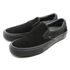 【バンズ VANS】バンズ スリッポン プロ [サイズ:28.5cm(US10.5)] [カラー:ブラックアウト] #VN00097M1OJ 送料無料 靴