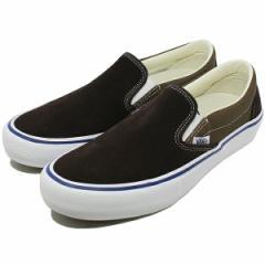 【バンズ スニーカー】VANS バンズ スリッポン プロ [サイズ:28.5cm(US10.5)] [カラー:コーヒービーン×チーク] #VN0A347VOJC 靴