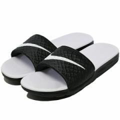 ナイキ ウィメンズ ベナッシ ソーラーソフト (レディースモデル)  [サイズ:26cm(US9)] [カラー:ブラック×ホワイト] #705475-010 靴