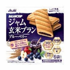 送料無料 バランスアップ ジャム玄米ブラン ブルーベリー 165g(1枚×6袋)×5個セット 健康食品