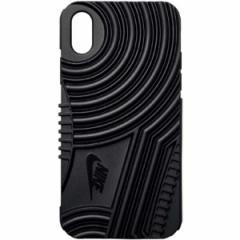 ナイキ NIKE エアフォース1 iPhoneX対応フォンケース [カラー:ブラック] #DG0025-001 スポーツ・アウトドア