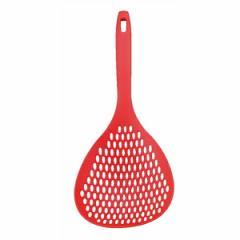 【アルティス】 HOME chef(ホームシェフ) ビッグメッシュスプーン レッド ARTIS キッチン用品