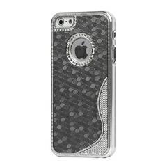 iPhoneSE / iPhone5s  iPhone SE iPhone 5s 最高品質メッキハードケース グレー 電化製品