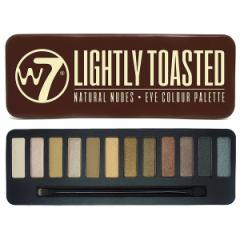 【W7(ダブルセブン)】 アイシャドウパレット2 ライトリートステッド W7 化粧品 コスメ EYESHADOW PALETTE LIGHTLY TOASTED