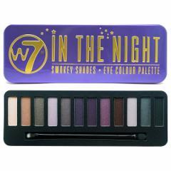 【W7(ダブルセブン)】 アイシャドウパレット3 インザナイト W7 化粧品 コスメ EYESHADOW PALETTE IN THE NIGHT