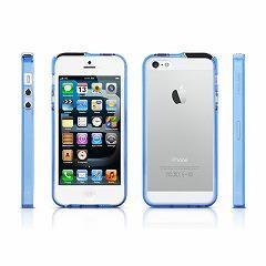 iPhoneSE / iPhone5s  iPhone SE iPhone 5s プラスチックバンパーケース ブルー 電化製品 Case for iPhone5 iPhone 5s