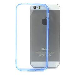 iPhoneSE / iPhone5s  iPhone SE iPhone 5s 超薄型軽量クリスタルハードケースカバー ダークブルー 電化製品 iPhone5 / iPhone 5s Case
