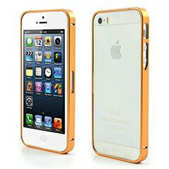 iPhoneSE / iPhone5s  iPhone SE iPhone 5s 耐久性メタルバンパーフレームケース ゴールデン 電化製品 iPhone5 / iPhone 5s Case