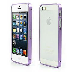 iPhoneSE / iPhone5s  iPhone SE iPhone 5s 耐久性メタルバンパーフレームケース パープルバックル 電化製品 iPhone5 / iPhone 5s Case